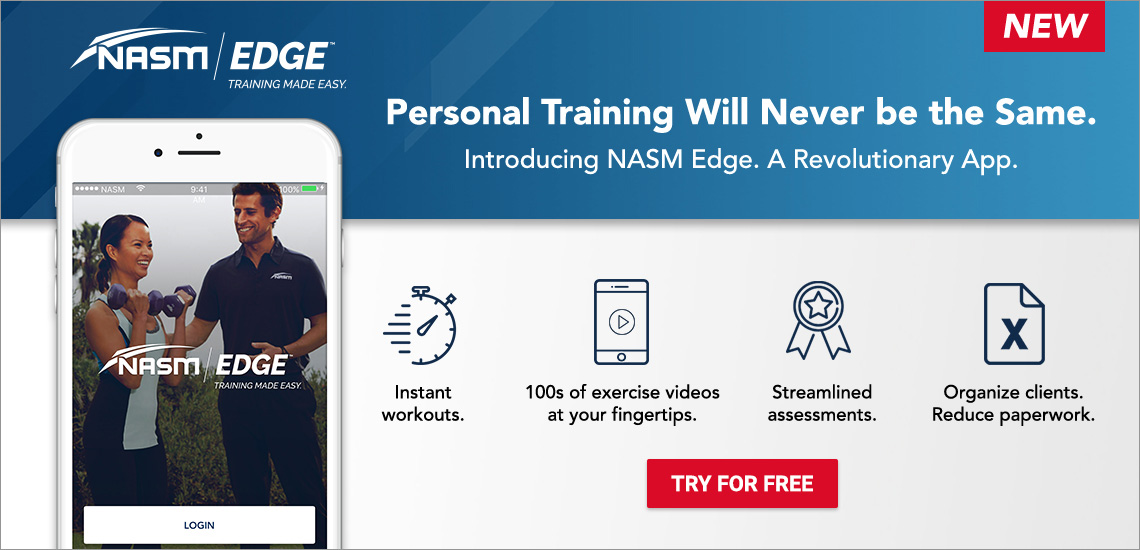 Personal Trainer Certification Nasm