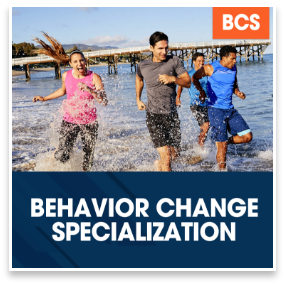 Behavior Change Specialization