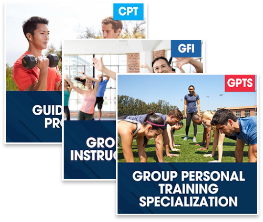 CPT Guided Study Plus Group Fitness Instructor Basic Plus Group Personal Training Specialization