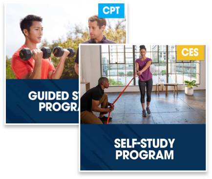 CPT Guided Study Plus Corrective Exercise Specialization