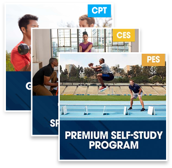 CPT Guided Study Plus Corrective Exercise Specialization Plus PES Premium Self Study Program