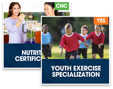 Nutrition Certification Plus Youth Exercise Specialization