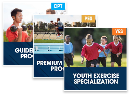 CPT Guided Study Plus PES Premium Self Study Program Plus Youth Exercise Specialization