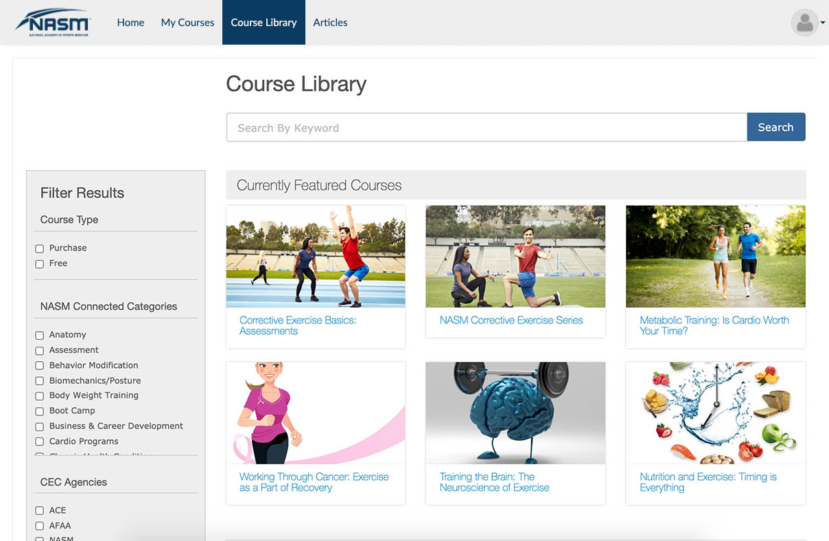 Course Library
