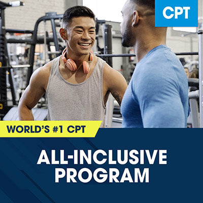 all inclusive nasm-cpt program shop photo