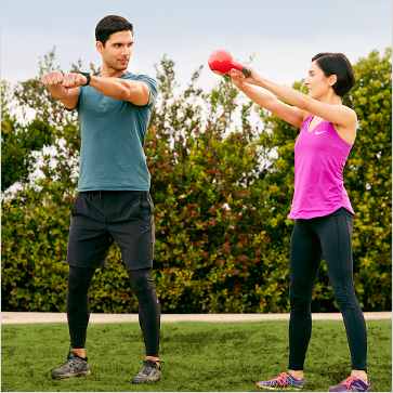 Personal Trainer Dating client