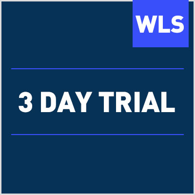 3 Day Trial Wls Online Course