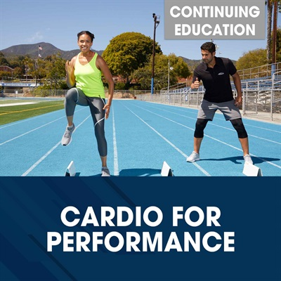 NA - Cardio for Performance Shop Tile