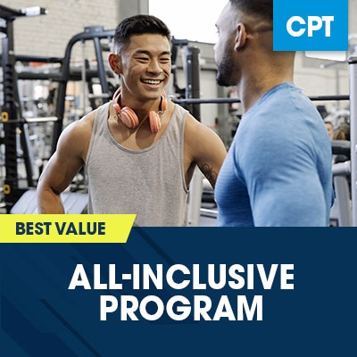 NASM CPT 7 All-Inclusive Program