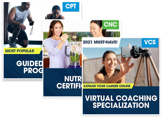 NASM Online Health Bundle