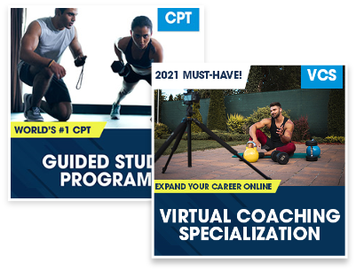 CPT Guided Study Plus Virtual Coaching Specialization