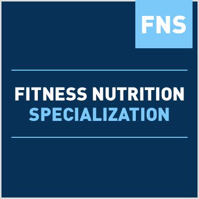 Fitness nutrition specialization fns fandeluxe Gallery